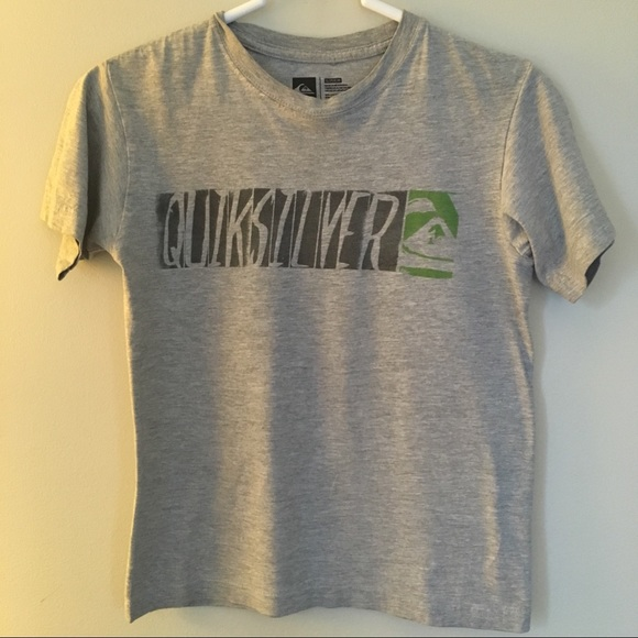 New With Tags Boys Quicksilver V Neck T-shirt.